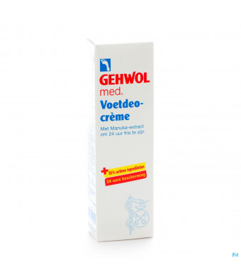 Gehwol Creme Deo Voeten 75ml1401181-32