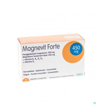 MAGNEVIT FORTE TEVA 90 TABL 450 MG3020088-31