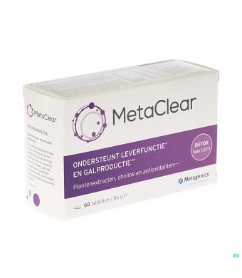 METACLEAR METAGENICS 60 TABL3051620-31