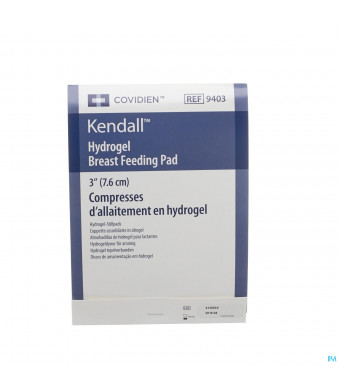 Kendall Tepelverband Hydrogel Diam 7,6cm 1 Paar3078094-31