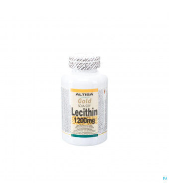 Altisa Soja Lecithine 1200mg Softgel 1503351434-31