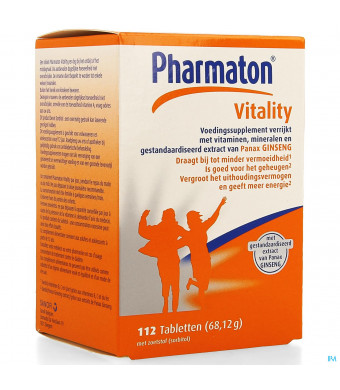 Pharmaton Vitality Comp 1123957107-31