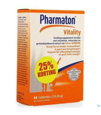 Pharmaton Vitality Comp 56 Promo 25% Gratis3967312-31