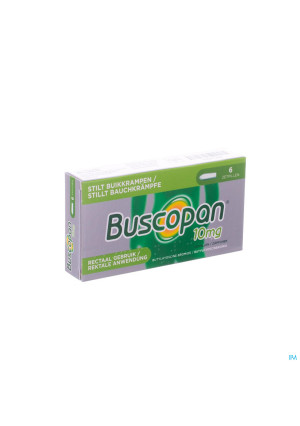 Buscopan Supp 6 X 10mg0104752-20