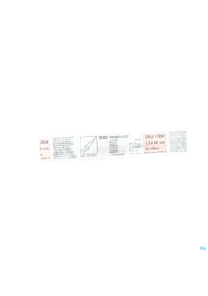 Bd Catheter Iv + Naald 20g Rose 1 3811370246231-20