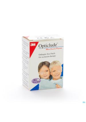 Opticlude Oogpleister Junior 63mm X 48mm0257618-20