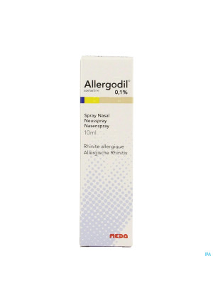Allergodil Spray Nasal Fl 10ml0316521-20