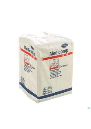 Medicomp 10x10cm 6l. Nst. 100 P/s0391979-20