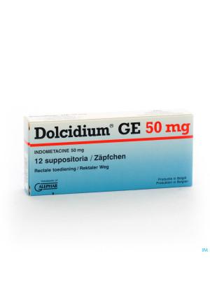 DOLCIDIUM 12 SUPP 50 MG GE0830026-20
