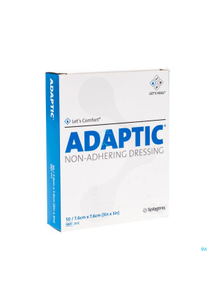 Adaptic Kp Doordr. 7,5x 7,5cm 50 2012de1081991-20