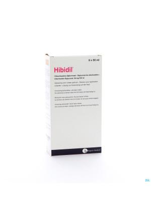 Hibidil Sol 8x50ml Ud Bottelpack1204999-20