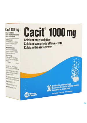 Cacit 1000 Bruistabletten Tube 30 X 1000mg1218460-20
