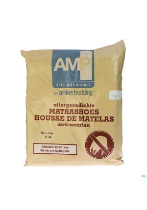 Amp Hoes Anti Stofmijt 90x200x16cm1275130-20