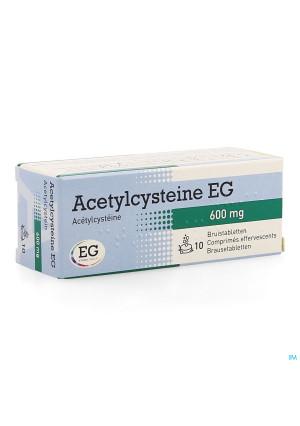 Acetylcysteine Eg 600mg Bruistabl 10x600mg1286285-20