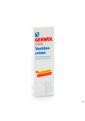 Gehwol Creme Deo Voeten 75ml1401181-20