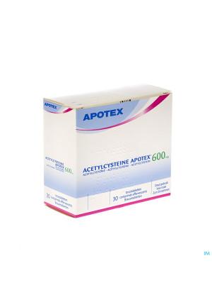Acetylcysteine Apotex Comp Eff 30 X 600mg1432442-20