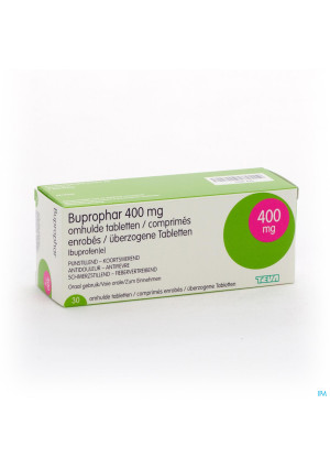 BUPROPHAR 30 DRAG 400 MG1456425-20