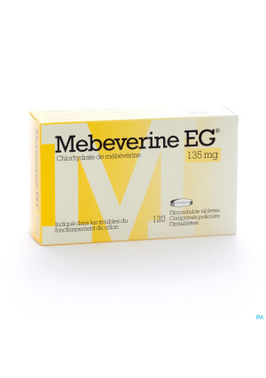MEBEVERINE E.G. 120 TABL 135 MG1464114-20