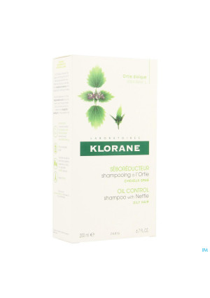 Klorane Capil. Sh Brandnetel 200ml1492875-20