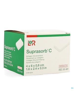 Suprasorb C Kp Steriel 4x 6x0,8cm 5 204811544741-20