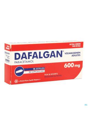 Dafalgan 600mg Suppos 121571272-20