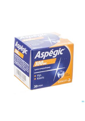 Aspegic 100 Pulv 30x 100mg1652049-20