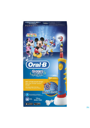 Oral B Plak Control D10511 Mickey Blue1697192-20