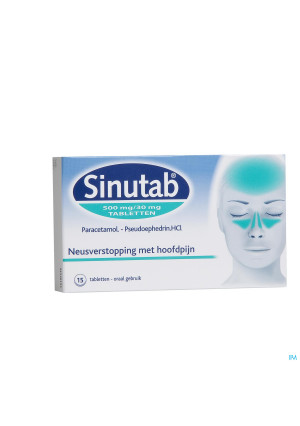 Sinutab 500/30mg Comp 151727031-20