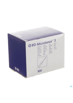 Bd Microlance 3 Nld 19g 1 1/2 Rb 1,1mm 40mm Cr 1001730654-20