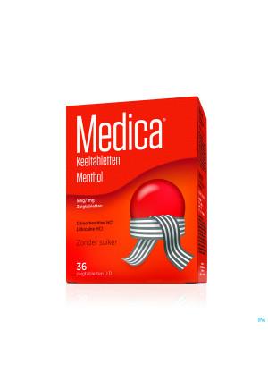 Medica Keeltabletten Menthol 36 Ud1739978-20