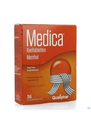 Medica Keeltabletten Menthol 36 zuigtabletten1739978-20
