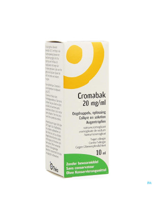 Cromabak Collyre 2% 10ml1797737-20