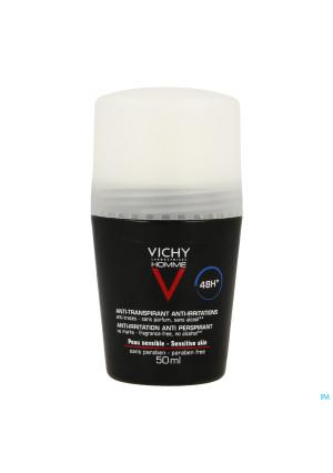 Vichy Homme Deo Gev Huid 48u Roller 50ml2034346-20