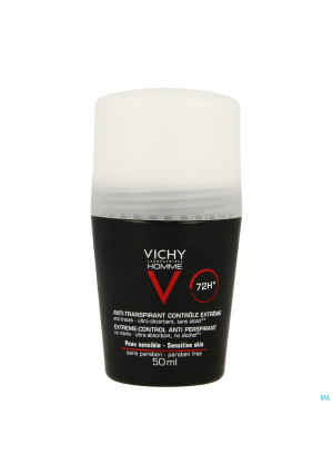 Vichy Homme Deo A/transp. 72u Roller 50ml2036259-20