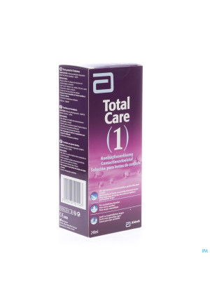 Total Care 1 All-in-one Harde Lens 240ml+lenscase2082923-20