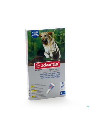 Advantix 400/2000 Honden 25<40kg Fl 4x4,0ml2087088-20
