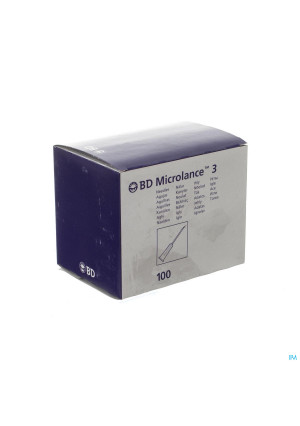 Bd Microlance 3 Naald 19g 1 Rb 1,1x40mm Creme 1002105492-20