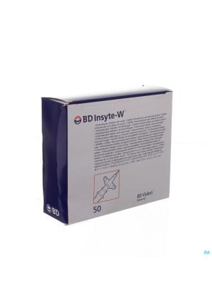Bd Insyte-w Cath.iv 22g 1 0,9x25mm Blauw 50 3813232105583-20