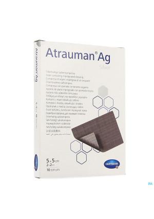 Atrauman Ag 5x5cm St. 10 P/s2114924-20
