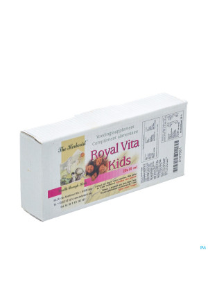 Herborist Royal Vita Kids Amp 20x3ml 07502127561-20