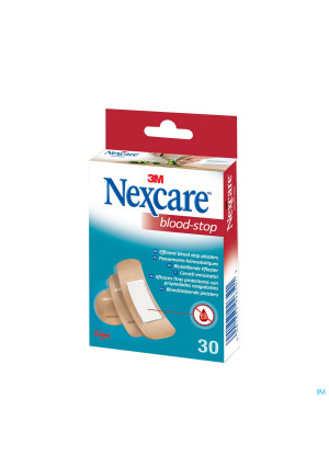 Nexcare 3m Bloodstop Assorted 30 N1730as2135952-20