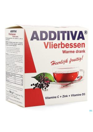 Additiva Vlierbessen Warme Drank Zakje 102140242-20