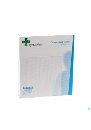 Dynaphar Kompres 8pl 10,0x10,0cm 12 352052153518-20