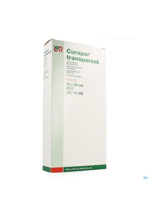 Curapor Transparant Steriel 10cmx25cm 25 131052172948-20