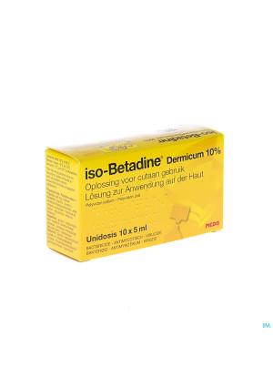 Iso Betadine Derm 10% Unidose Fl 10x5ml2247849-20