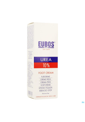 Eubos Urea 10% Voetcreme Zeer Droge Huid 100ml2256204-20