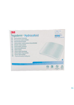 Tegaderm Hydrocol.square Ster 100mmx100mm 5 900022304723-20