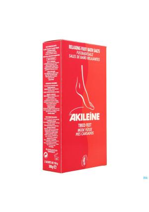 Akileine Rood Badzout Voeten Zakje 2x150g 1012202324366-20