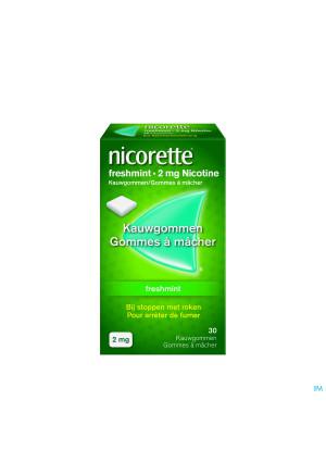 Nicorette Freshmint Kauwgom 30x2mg2326049-20