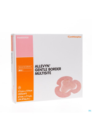 Allevyn Gentle Border Ster 17,5x17,5cm 10 668002732476174-20